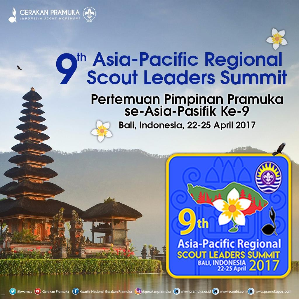 9th APR (Asia-Pacific Regional) Scout Leaders Summit 2017